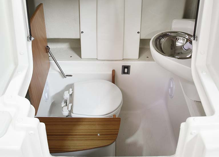 Modello 23EF - Toilet under the console