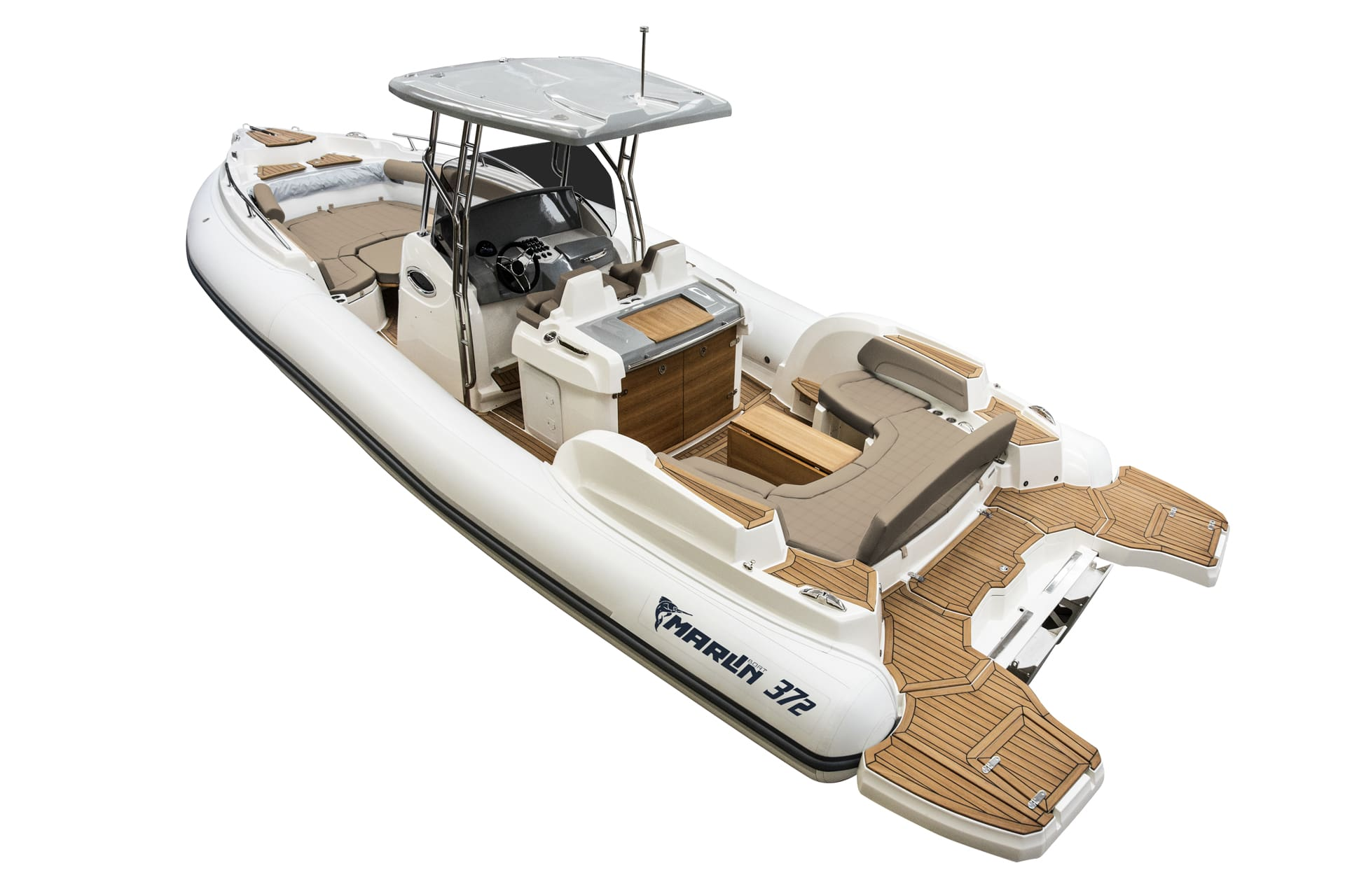 Marlin Boat - Outboard model  372