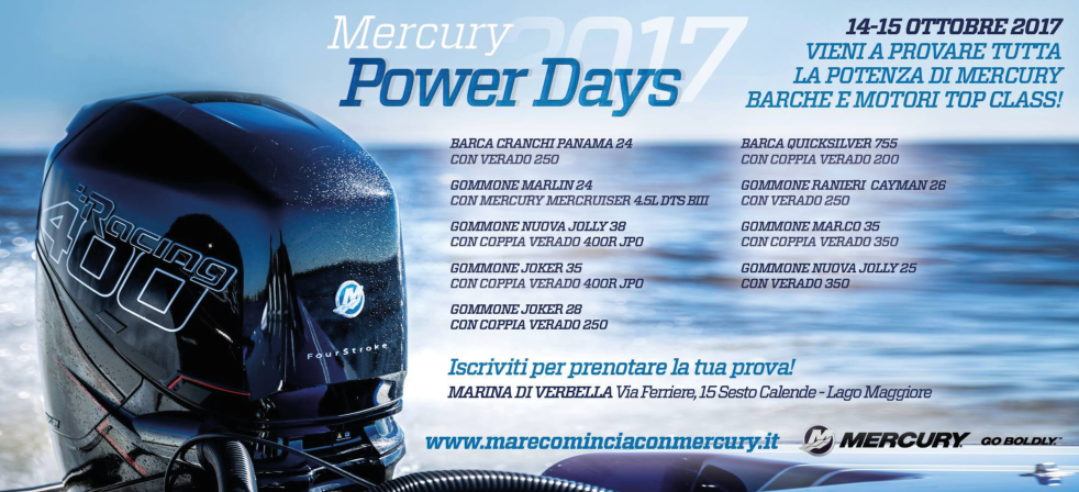 Mercury Power Days